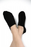 Footies/invisible socks, black